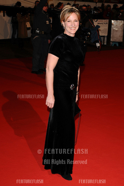 Penny Downie arriving for the 'Invictus' premiere at the Odeon West End, Leicester Square, London.  31/01/2010  Steve Vas / Featureflash