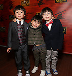 "Samuel Li Weintraub Jace Chen and Gregory Ye attends The Opening Night After Party for the New Broadway Production of ""Miss Saigon"" at Tavern on the Green on March 23, 2017 in New York City"