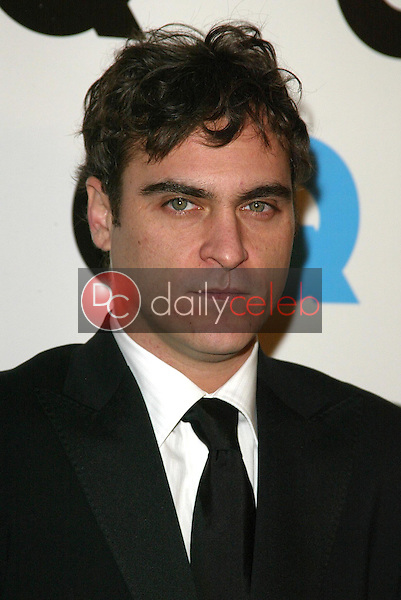 """Joaquin Phoenix<br />at the GQ Magazine's 10th Anniversary """"Men of the Year"""" Issue Release Party, Mr. Chow's, Beverly Hills, CA 12-01-05<br />Jason Kirk/DailyCeleb.com 818-249-4998"""