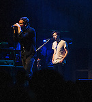 Tom Chaplin and Jesse Quin of Keane plays The Boston House of Blues in their tour opening performance.