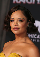 HOLLYWOOD, CA - OCTOBER 10: Tessa Thompson at the world premier of Marvel Studios&rsquo; Thor: Ragnarok  in Hollywood, California on October 10, 2017. <br /> CAP/MPIFS<br /> &copy;MPIFS/Capital Pictures
