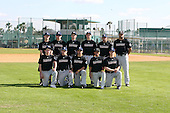 December 30, 2009:  Baseball Factory Commodores team during the Pirate City Baseball Camp & Tournament at Pirate City in Bradenton, Florida.  (Copyright Mike Janes Photography)
