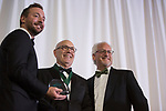 William Hilyard accepts the Distinguished Service Award at the Alumni Awards Gala on October 6, 2017.
