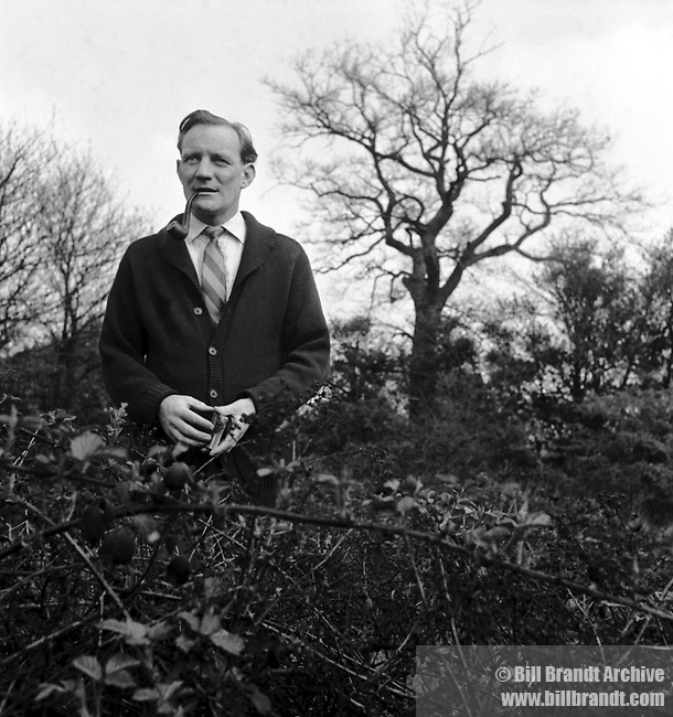 Trevor Howard with his pipe