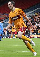 Jamie Murphy celebrating scoring his goal