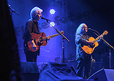 Graham Nash & David Crosby of Crosby, Stills & Nash at the Tollwood Festival in Munich, Germany.
