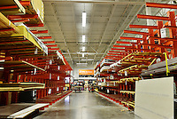 MIRAMAR, FL - OCTOBER 06: Empty plywood shelves at Home Depot as South Florida residents prepare for Hurricane Matthew on October 6, 2016 in Miramar, Florida. The hurricane is expected to make landfall sometime this evening or early in the morning as a possible category 4 storm.Credit: MPI10 / MediaPunch