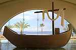 "Israel, ""Duc in Altum"" Spirituality Center in Magdala Center by the Sea of Galilee"