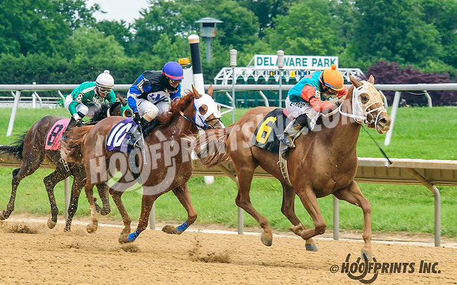 Thunder Duke winning at Delaware Park on 6/2/16