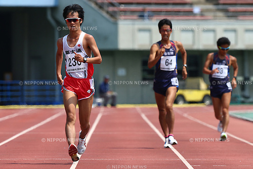 Eiki Takahashi,<br /> MAY 21, 2016 - Athletics :<br /> The 58th East Japan Industrial Athletics Championship <br /> Men's 5000m Race Walk<br /> at Kumagaya Sports Culture Park Athletics Stadium, Saitama, Japan. <br /> (Photo by Shingo Ito/AFLO SPORT)