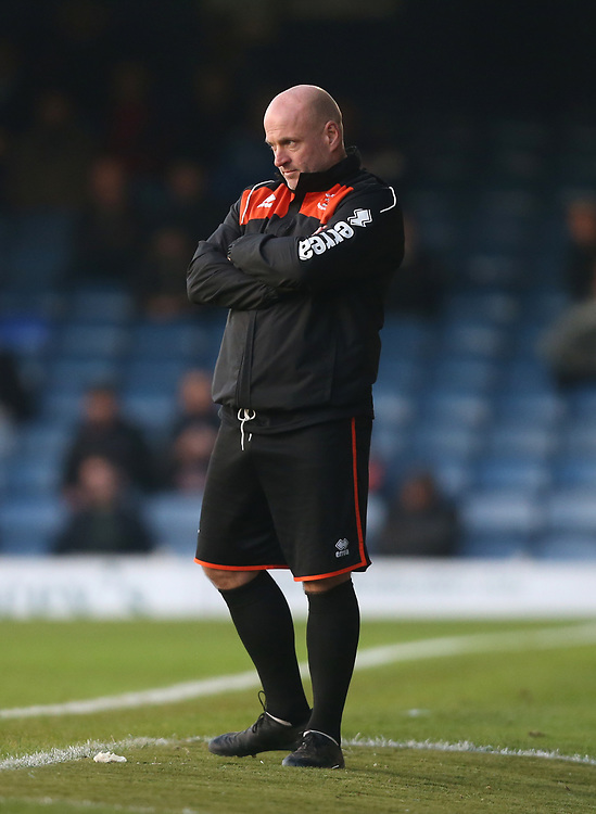 Blackpool assistant manager Gary Brabin<br /> <br /> Photographer Rob Newell/CameraSport<br /> <br /> The EFL Sky Bet League One - Southend United v Blackpool - Saturday 17th November 2018 - Roots Hall - Southend<br /> <br /> World Copyright © 2018 CameraSport. All rights reserved. 43 Linden Ave. Countesthorpe. Leicester. England. LE8 5PG - Tel: +44 (0) 116 277 4147 - admin@camerasport.com - www.camerasport.com
