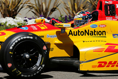 15-17 April, 2016, Long Beach, California USA<br /> 28 Ryan Hunter-Reay<br /> ©2016, Perry Nelson<br /> LAT Photo USA