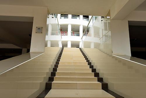 Steps to a modern hotel in Kigali, Rwanda