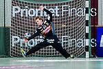 Stockholm 2013-10-20 Handboll Elitserien Hammarby IF - Alings&aring;s HK :  <br /> Hammarby m&aring;lvakt 25 Pontus Espling r&auml;ddar ett skott<br /> (Foto: Kenta J&ouml;nsson) Nyckelord:  portr&auml;tt portrait