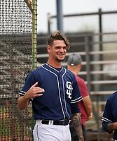 Michel Baez - San Diego Padres 2018 spring training (Bill Mitchell)