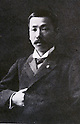 Undated - Kenjiro Kinoshita (1869-1947) was a politcian in House of Peers and House of Representatives of Japan. Also he was famous as gourmet, his essay 'Bimigushin' was a first gourmet essay in Japan.  (Photo by Kingendai Photo Library/AFLO)