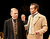 An Ideal Husband by Oscar Wilde<br /> at Festival Theatre Chichester, Great Britain <br /> 25th November 2014 <br /> <br /> directed by Rachel Kavanaugh <br /> <br /> <br /> <br /> <br /> <br /> Edward Fox as The Earl of Caversham <br /> Robert Bathurst as Sir Robert Chiltern<br /> Jamie Glover as Lord Goring <br /> <br /> <br /> <br /> <br /> <br /> <br /> Photograph by Elliott Franks <br /> Image licensed to Elliott Franks Photography Services
