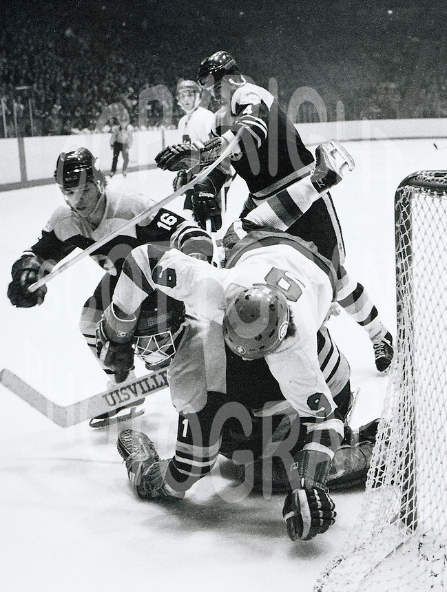 Yvan Joly Ottawa 67's 1978. Photo Scott Grant