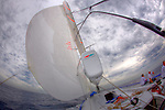 Onboard Singularity a Lutra 80 Canting keel racer cruiser built in Sydney by McConaghy Boats in Sydney, Australia.