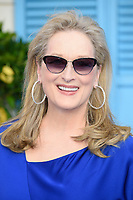 Meryl Streep arriving for the &quot;Mama Mia! Here We Go Again&quot; world premiere at the Eventim Apollo, Hammersmith, London, UK. <br /> 16 July  2018<br /> Picture: Steve Vas/Featureflash/SilverHub 0208 004 5359 sales@silverhubmedia.com