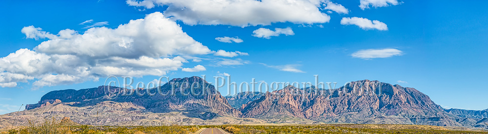 We capture this pano as we turned onto the Ross Maxwell Scenic drive. We love the look of the road as it led into the Chiso Mountain Range in Big Bend National Park.  We had some nice clouds and it frame the image just as we turned so that it seemed we would drive straight into the the Window from the other side of the Chiso Mountains.