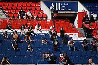21st July 2020, Parc de Princes, Paris, France; Friendly club football, PSG versus Celtic;   Fans of PSG in the stands during the Friendly match