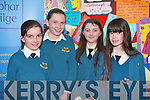 LEABHAR GAEILGE: Students of Scoil Naomh Eoin Basite, Tralee enjoying their night at the Scriobh Leabhar awards at IT Tralee on Wednesday night l-r: Michelle O'Leary, Lucy Kelly, Cira Kelliher and Sahara O'Riordan.   Copyright Kerry's Eye 2008
