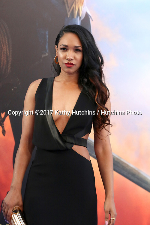 "LOS ANGELES - MAY 25:  Candice Patton at the ""Wonder Woman"" Los Angeles Premiere at the Pantages Theater on May 25, 2017 in Los Angeles, CA"