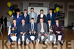 The Beaufort minor team who were presented with their County League medals by Tim Murphy at the Beaufort GAA social in the Killarney Oaks on Sunday night