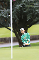 Ai Miyazato (JPN) playing her final tournament of her career   chips onto the 6th green during Wednesday's Pro-Am Day of The Evian Championship 2017, the final Major of the ladies season, held at Evian Resort Golf Club, Evian-les-Bains, France. 13th September 2017.<br /> Picture: Eoin Clarke | Golffile<br /> <br /> <br /> All photos usage must carry mandatory copyright credit (&copy; Golffile | Eoin Clarke)