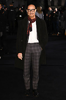"LONDON, UK. March 08, 2019: Stanley Tucci arriving for the premiere of ""The White Crow"" at the Curzon Mayfair, London.<br /> Picture: Steve Vas/Featureflash"