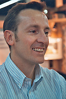 Thierry Germain owner and wine maker of Domaine des Roches Neuves, Saumur-Champigny, Maine et Loire France