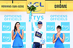 Simon Yates (GBR) Orica-Scott retains the White Jersey at the end of Stage 16 of the 104th edition of the Tour de France 2017, running 165km from Le Puy-en-Velay to Romans-sur-Isere, France. 18th July 2017.<br /> Picture: ASO/Alex Broadway | Cyclefile<br /> <br /> <br /> All photos usage must carry mandatory copyright credit (&copy; Cyclefile | ASO/Alex Broadway)