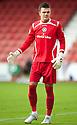 Stranraer keeper David Mitchell.
