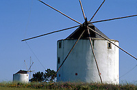 Portugal, Windmühle in der Estremadura