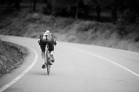 Ian Boswell (USA/SKY) tucked in<br /> <br /> stage 17: Burgos-Burgos TT (38.7km)<br /> 2015 Vuelta &agrave; Espana