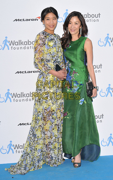 LONDON, ENGLAND - JUNE 27: guest &amp; Michelle Yeoh attend the Walkabout Foundation's Inaugural Gala, Natural History Museum, Cromwell Rd., on Saturday June 27, 2015 in London, England, UK. <br /> CAP/CAN<br /> &copy;Can Nguyen/Capital Pictures