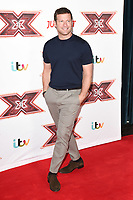 Dermot O'Leary at the &quot;X Factor&quot; 2017 series launch at the Picturehouse Central, London, UK. <br /> 30 August  2017<br /> Picture: Steve Vas/Featureflash/SilverHub 0208 004 5359 sales@silverhubmedia.com