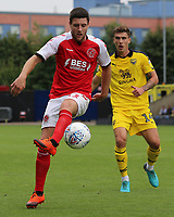 Fleetwood Town's Bobby Grant pushes forward<br /> <br /> Photographer David Shipman/CameraSport<br /> <br /> The EFL Sky Bet League One - Oxford United v Fleetwood Town - Saturday August 11th 2018 - Kassam Stadium - Oxford<br /> <br /> World Copyright &copy; 2018 CameraSport. All rights reserved. 43 Linden Ave. Countesthorpe. Leicester. England. LE8 5PG - Tel: +44 (0) 116 277 4147 - admin@camerasport.com - www.camerasport.com