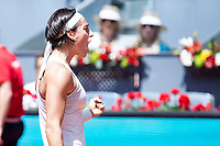 French Caroline Garcia during Mutua Madrid Open 2018 at Caja Magica in Madrid, Spain. May 10, 2018. (ALTERPHOTOS/Borja B.Hojas) /NORTEPHOTOMEXICO