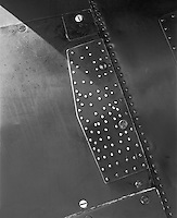 &quot;Metal Plate on a B-25 Bomber&quot; <br />