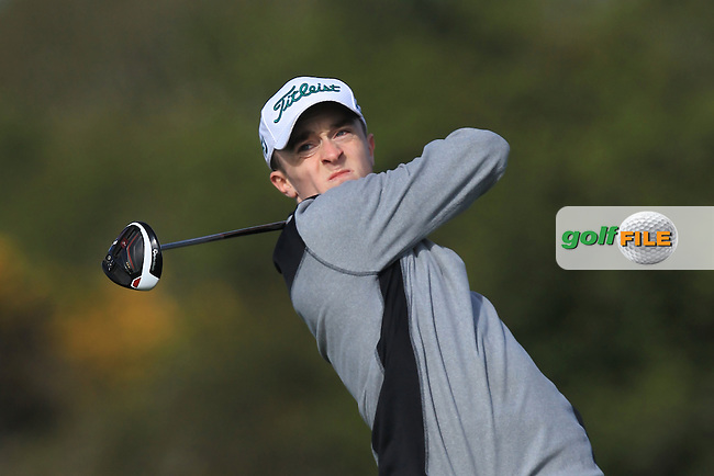 P Tobin (Cork) on the 4th tee during Round 1 of the Munster Stroke Play Championship at Cork Golf Club on Saturday 30th April 2016.<br /> Picture:  Thos Caffrey / www.golffile.ie