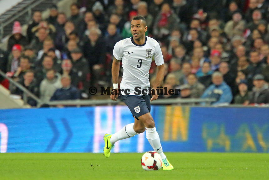 Ashley Cole (ENG) - England vs. Deutschland im Wembley Stadium
