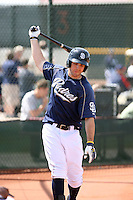 Sawyer Carroll, San Diego Padres 2010 minor league spring training..Photo by:  Bill Mitchell/Four Seam Images.