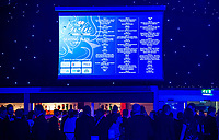 Picture by Allan McKenzie/SWpix.com - 05/10/17 - Cricket - Yorkshire County Cricket Club Gala Dinner 2017 - Elland Road, Leeds, England - Seating guide.