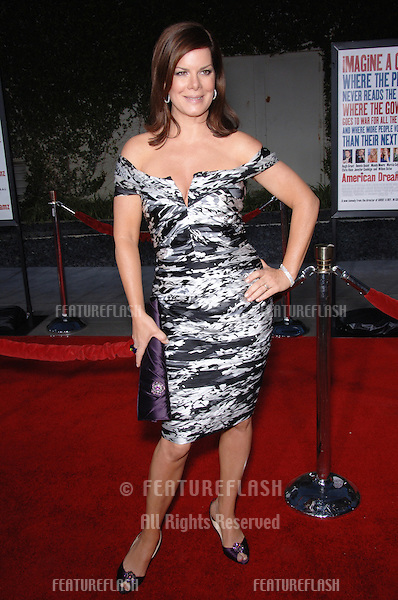 Actress MARCIA GAY HARDEN at the world premiere, in Los Angeles, of her new movie American Dreamz..April 11, 2006 Los Angeles, CA.© 2006 Paul Smith / Featureflash