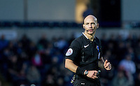 Referee Darren Drysdale during the Sky Bet League 2 match between Wycombe Wanderers and Crawley Town at Adams Park, High Wycombe, England on 28 December 2015. Photo by Andy Rowland / PRiME Media Images