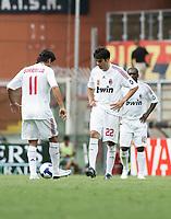 """delusione milan 2-0<br /> Genova 14/09/2008 Stadio """"Ferraris"""" <br /> Calcio Serie A Tim 2008-2009 <br /> Genoa-Milan<br /> Foto Davide Elias Insidefoto"""