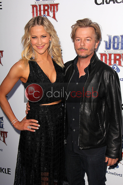 Brittany Daniel, David Spade<br />