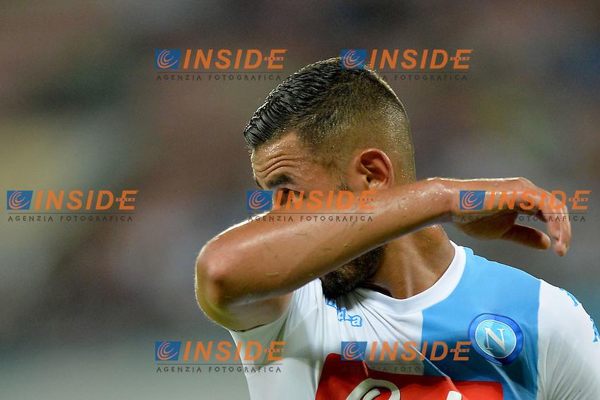 Faouzi Ghoulam Napoli<br /> Napoli 7-08-2016  Stadio San Paolo<br /> amichevole / friendly match.<br /> Napoli - Monaco<br /> Foto Antonietta Baldassarre / Insidefoto